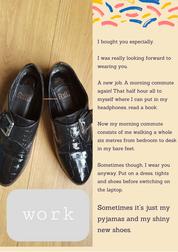 Pyjamas and My Shiny New Shoes