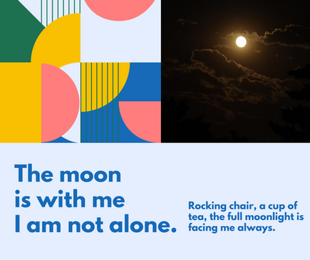 The Moon Is With Me