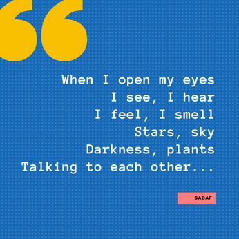 When Open My Eyes