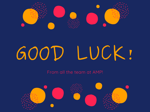 Good Luck to Artistic Director Catrin!