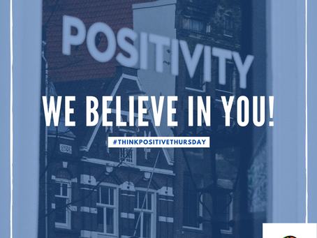 Think Positive Thursday