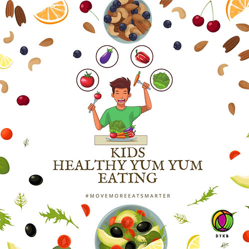 Kids Healthy Eating Yum Yum Recipe Book Vol. 1
