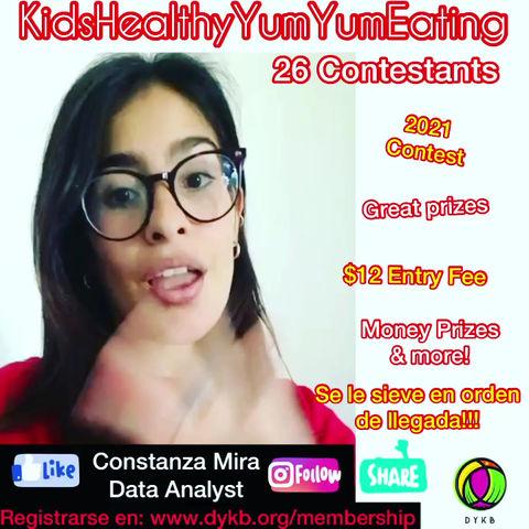 Kids Healthy Yum Yum Eating Contest! In Spanish!