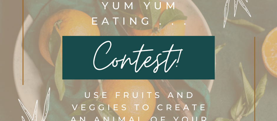 New Kids Healthy Yum Yum Eating Contest!