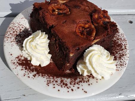 Bananen- NussNougat - Brownies