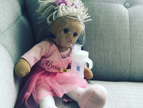 The little girl with Croup...