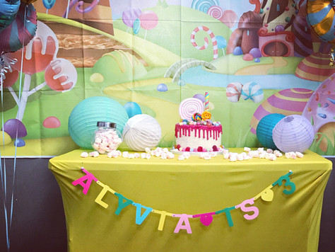 Toddler Birthday Parties - Alyvia turns 3!