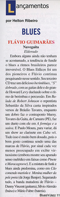 Revista Blues'n'Jazz nº 11