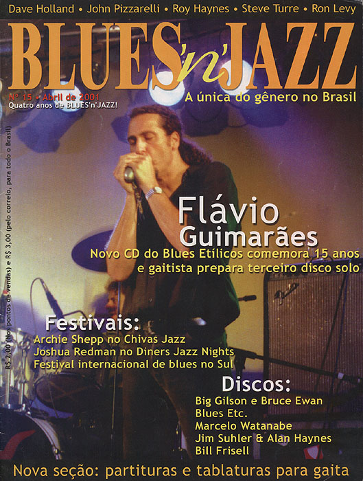 Capa Revista Blues'n'Jazz nº 15