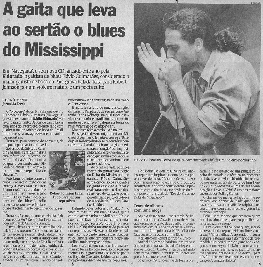 Jornal da Tarde - José Nêumane