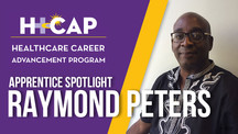 APPRENTICE SPOTLIGHT: Raymond Peters - Assistant Case Manager