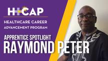 APPRENTICE SPOTLIGHT: Raymond Peter - Assistant Case Manager
