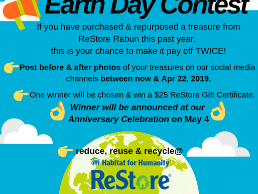 Reduce, Reuse, Recycle & Win $25?