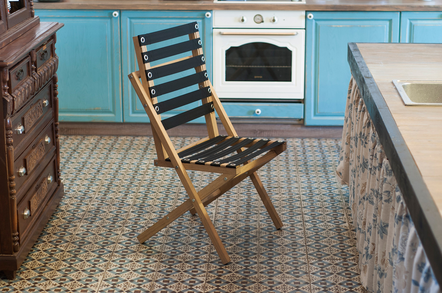 BOW chair in the kitchen interior