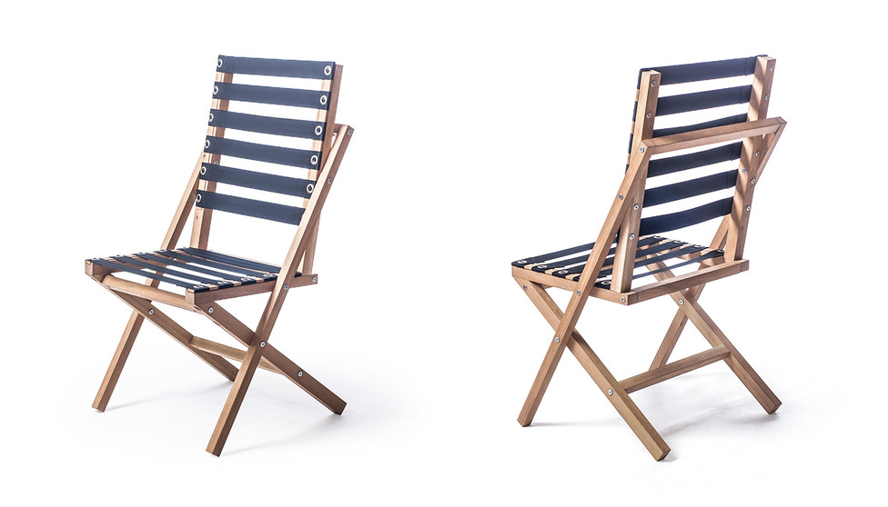 BOW chair front and back