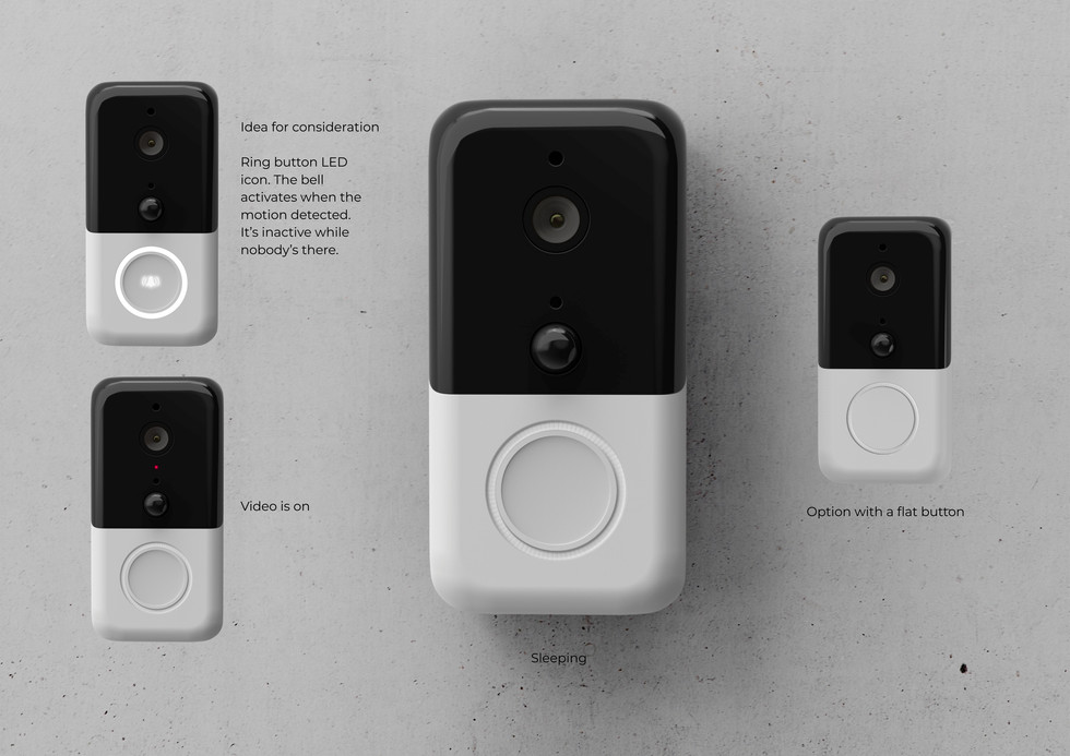 smart doorbell interface