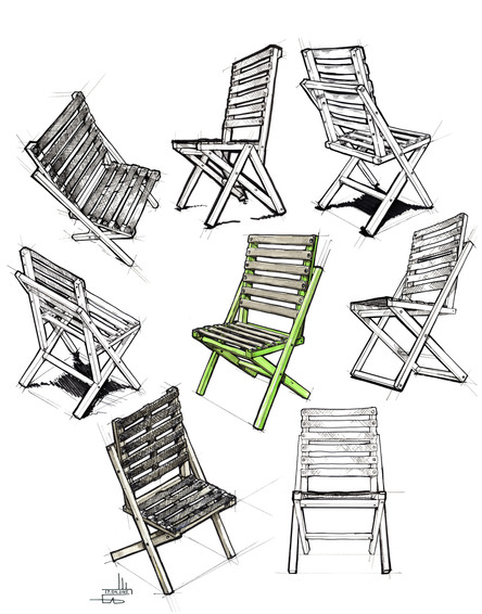 BOW chair versions