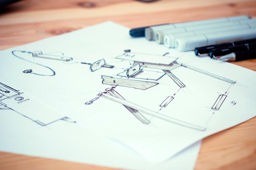 PET lamp sketch
