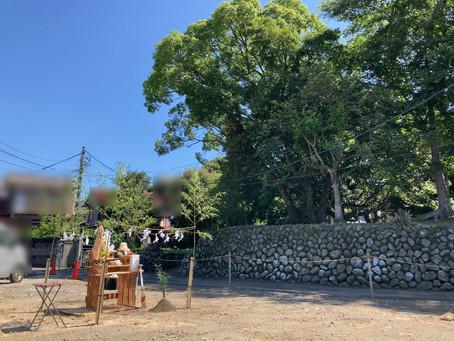 小田原市 N邸 地鎮祭