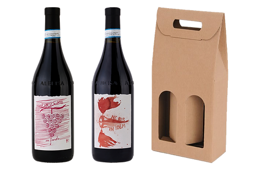 Langhe DOC Dolcetto + Langhe DOC Nebbiolo + Scatola