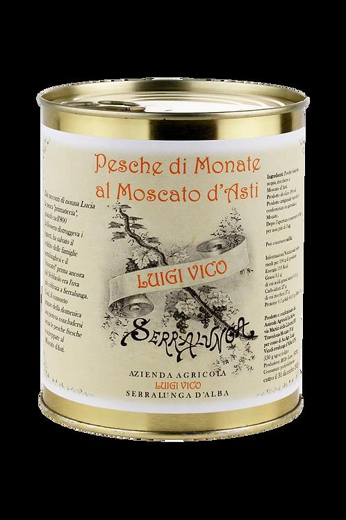 Pesche di Monate al Moscato d'Asti