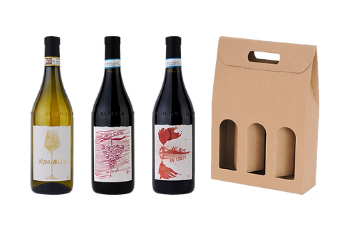 Roero Arneis DOCG + Langhe DOC Dolcetto + Langhe DOC Nebbiolo +