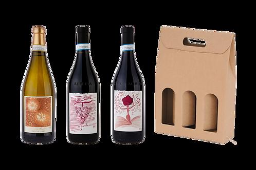 Moscato d'Asti DOCG + Langhe DOC Dolcetto + Langhe DOC Barbera + Scato