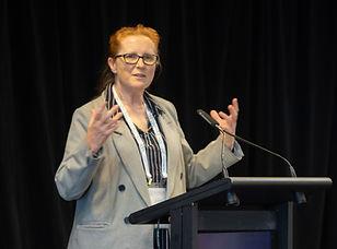 Professor Julia Coyle presents at the 2019 EPHEA Conference