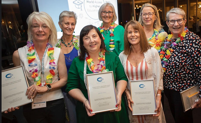 2019 Lifetime Member award recipients at the 2019 EPHEA conference