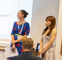 Image of two presenters at EPHEA 2019 Conference