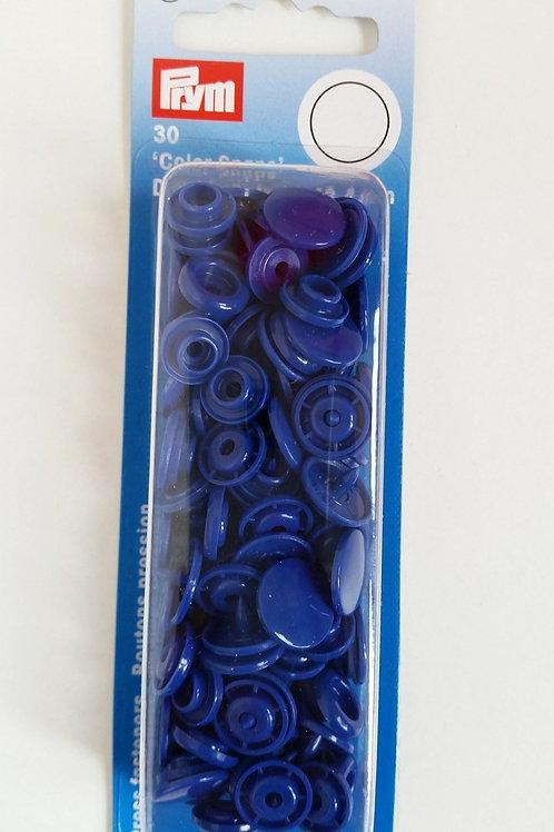 12.4mm Prym Snaps Royal Blue