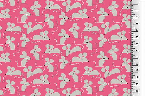Mouse Jersey - Pink