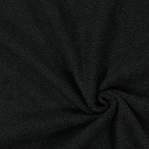 Black Anti pill fleece