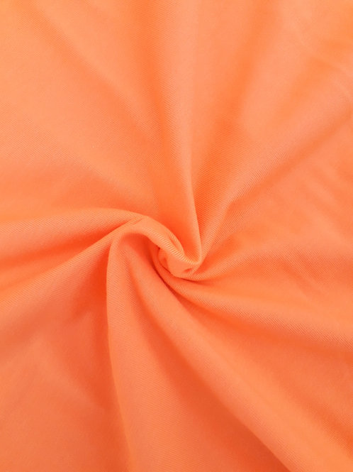 Bright Orange 95/5 Cotton Elastane