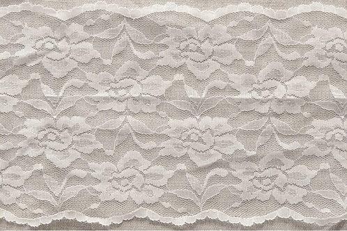145mm White stretch lace
