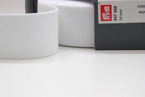 Prym, soft waistband elastic - White