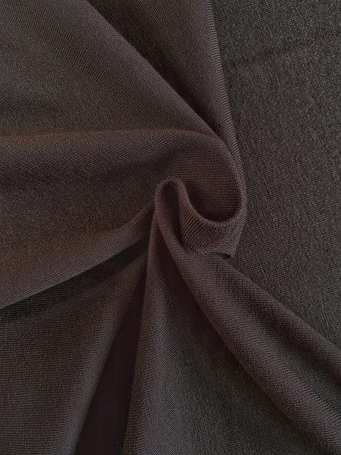 Dark brown 95/5 Cotton Elastane PRE-WASHED