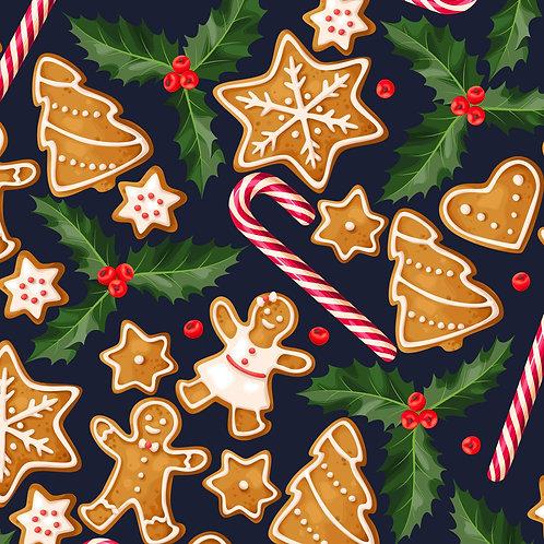 Navy Gingerbread