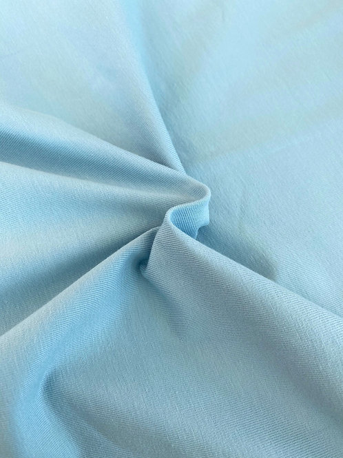 Powder blue 95/5 Cotton Elastane