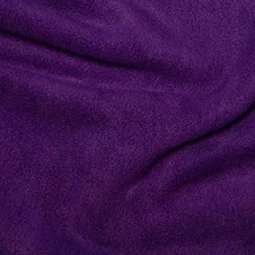 Purple Anti pill fleece