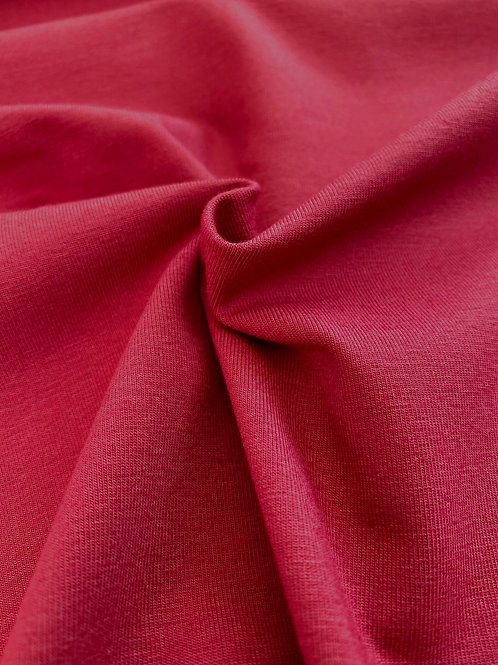 Dark red 95/5 Cotton Elastane