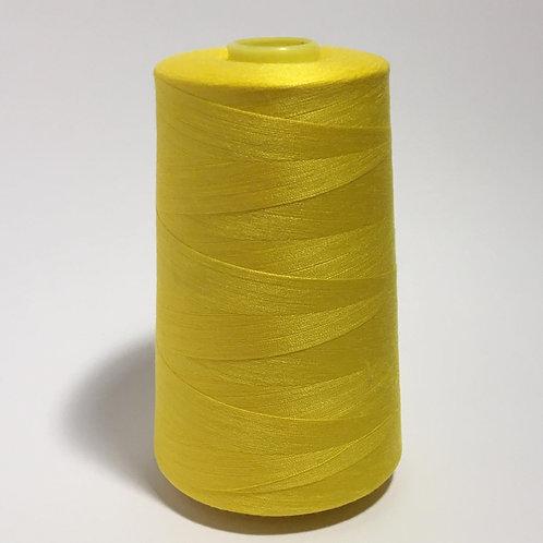 Yellow-Overlocker thread 5000m