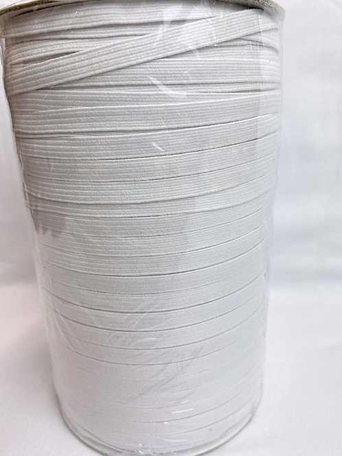 5mm White woven elastic (perfect for masks)
