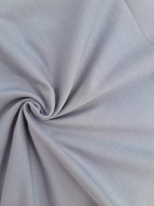 Silver grey 95/5 Cotton Elastane