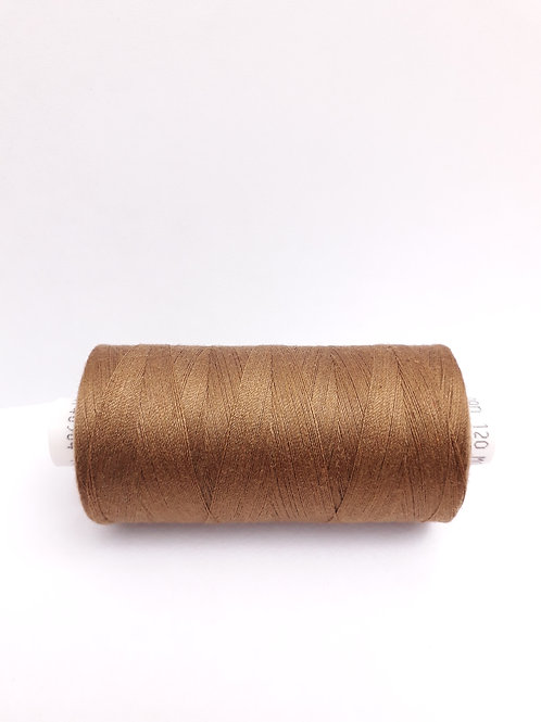 Brown Moon spun polyester thread 1000m