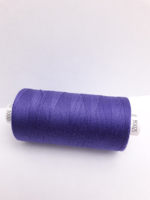 Purple Moon spun polyester thread 1000m