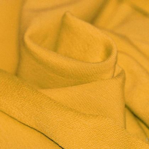 Ochre French terry