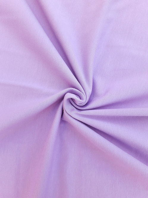 Pale purple 95/5 Cotton Elastane