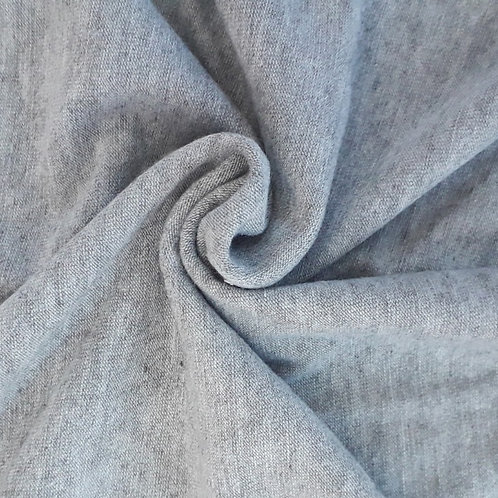 Silver Marl grey viscose Jersey