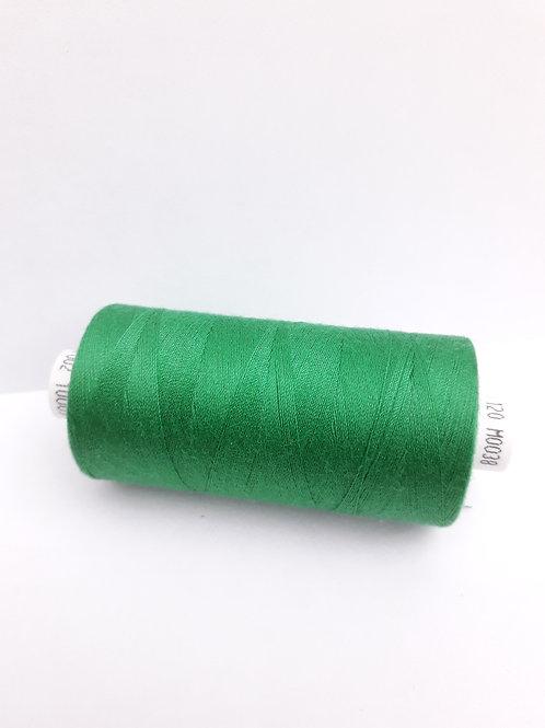 Emerald Green Moon spun polyester thread 1000m